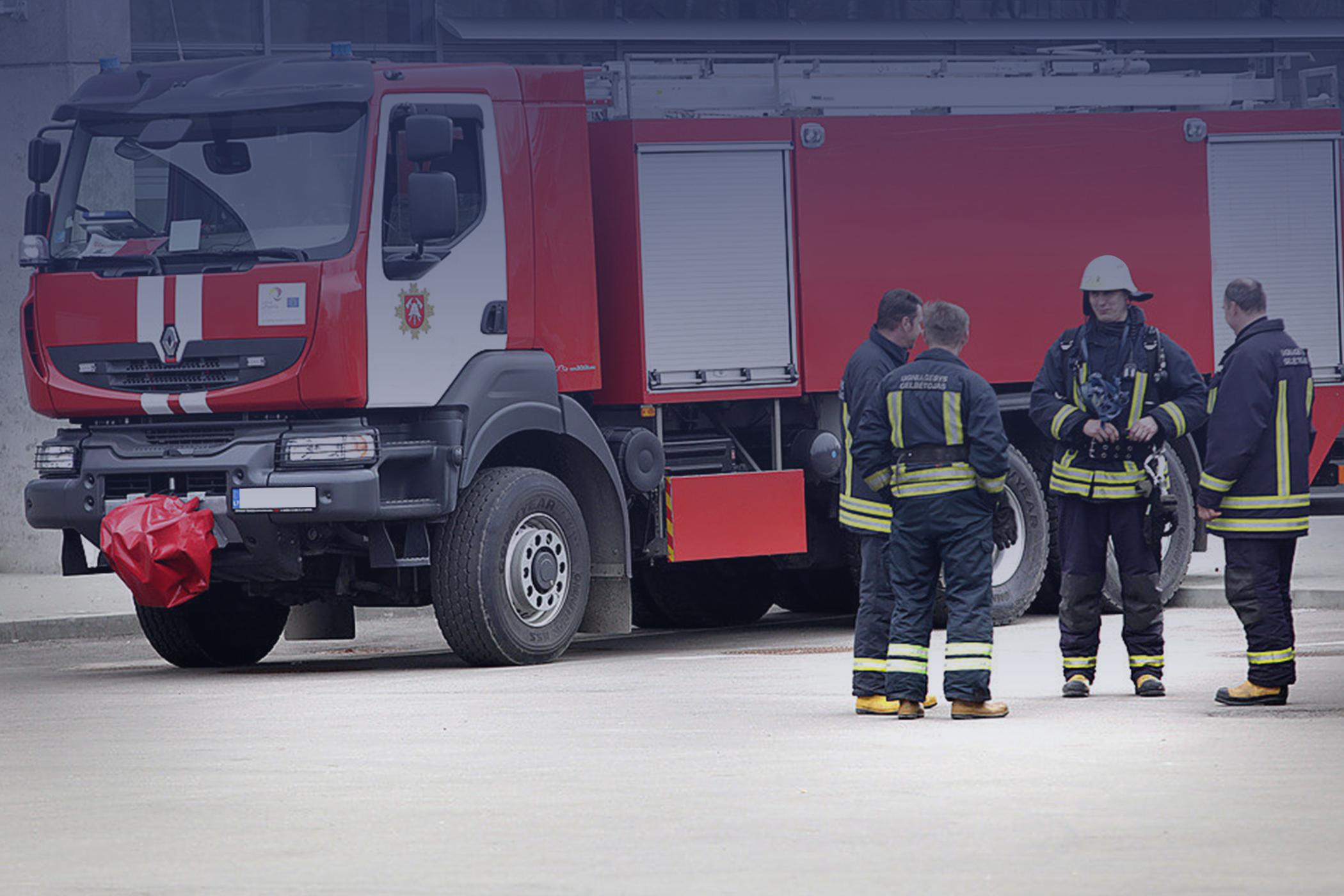 Priešgaisrinė įranga